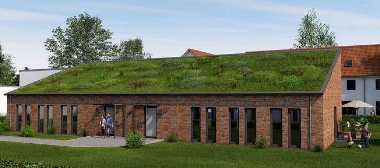 Neubau - Hinterhaus mit Garten, Wohnen und Arbeiten oder Büro/Praxis