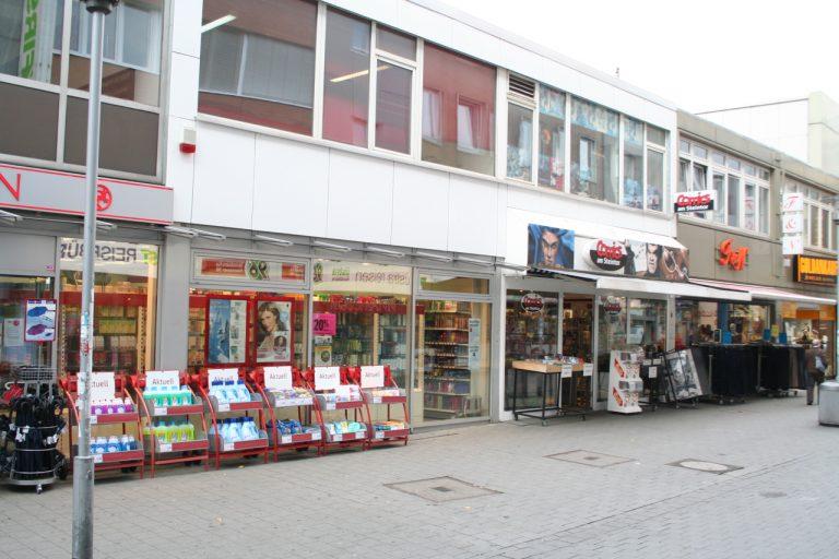 Gewerbeimmobilie in Hannovers Fußgängerzone
