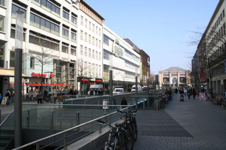 Praxisfläche in der Bahnhofstrasse / Hannover Innenstadt
